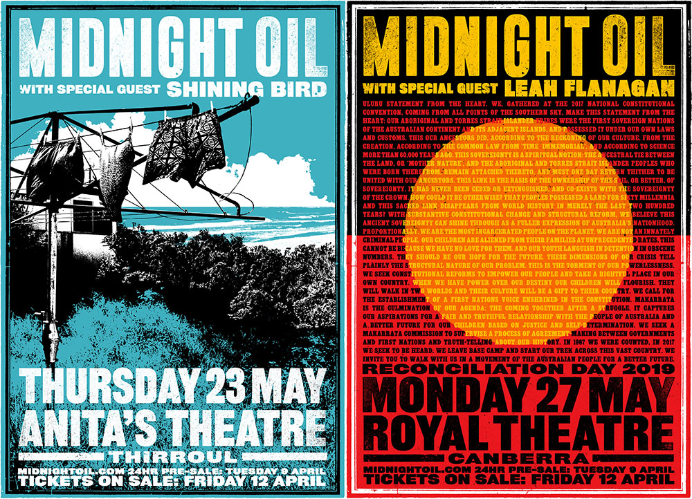 Midnight Oil reveal final 2019 gigs and possible recording plans