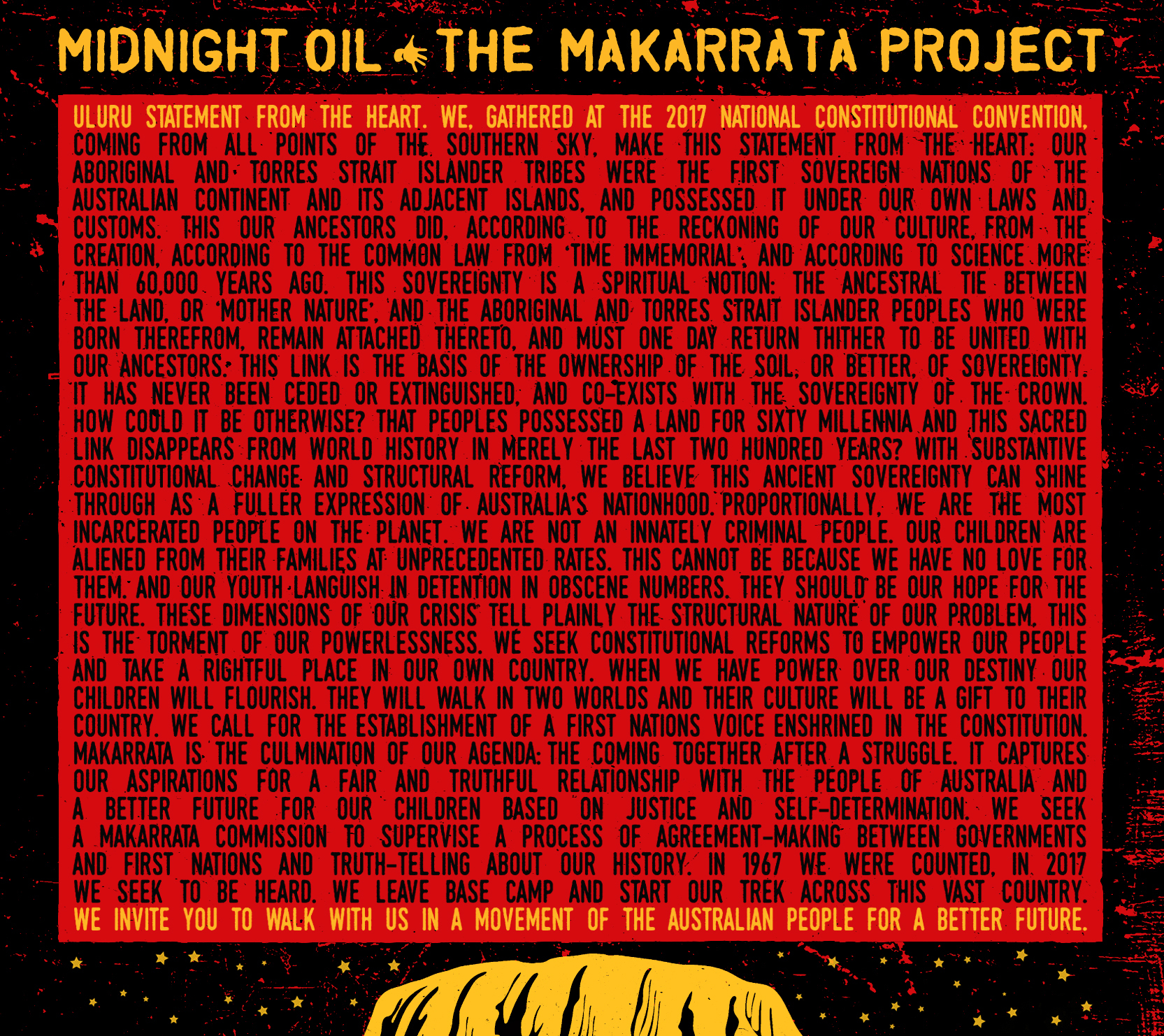 THE MAKARRATA PROJECT out now
